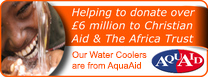 Proud Supporters of Water Aid